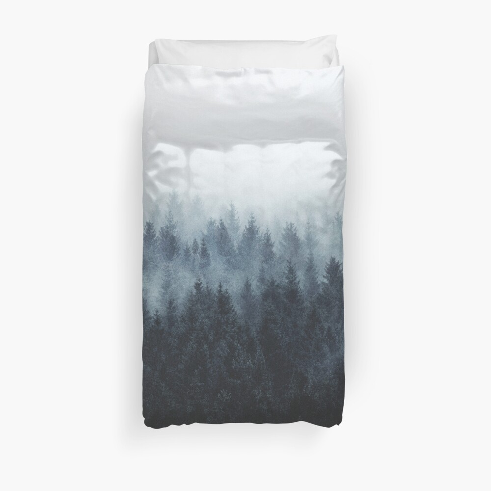 High And Low Duvet Cover