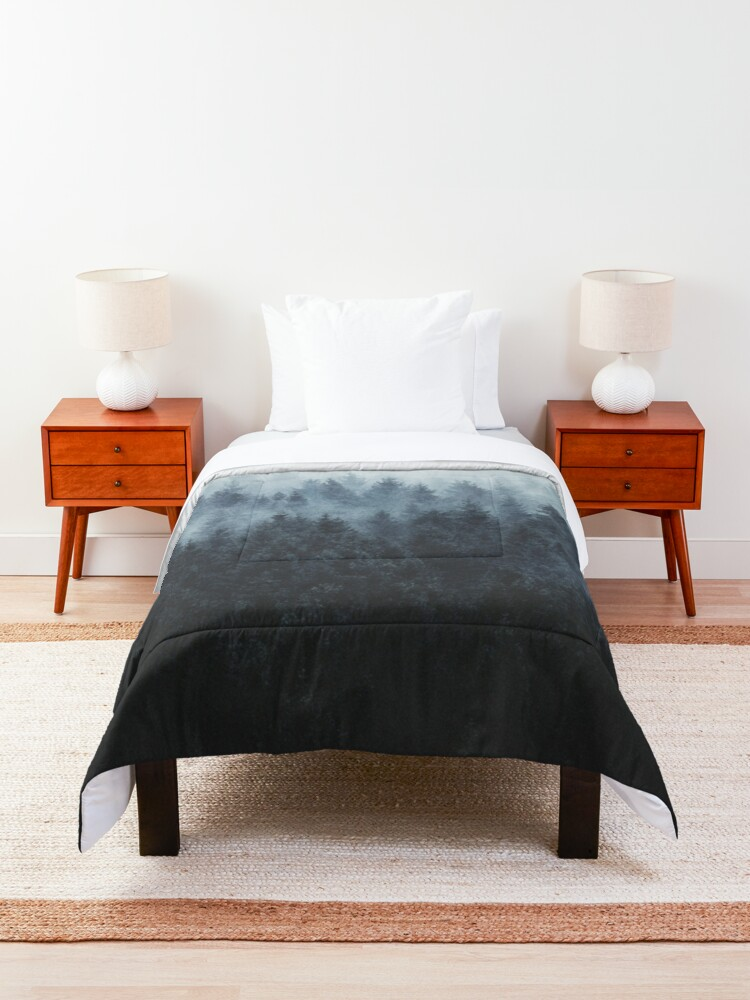 Alternate view of High And Low Comforter