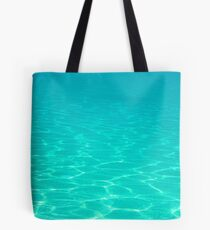 Floating in Turquoise Waters Tote Bag