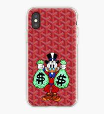 Red Goyard Money iPhone Case