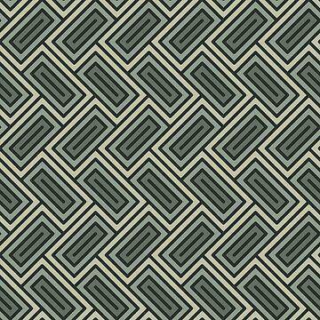 Geometric Pattern: Falling Rectangle: Forest by redwolfoz