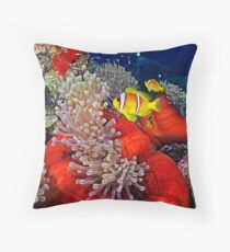 Anemone City Throw Pillow