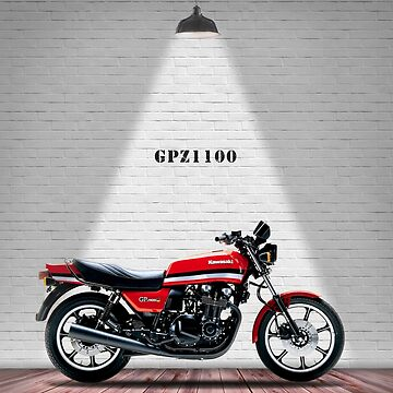 The GPz1100 Classic Motorcycle by rogue-design