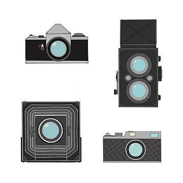 Film Cameras Photography design by GetItGiftIt
