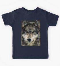Abstract Wolf Kids Tee