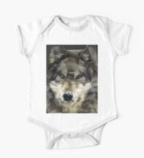 Abstract Wolf Kids Clothes