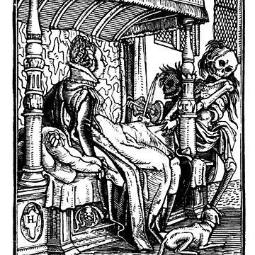 Holbein -Danse Macabre 36  by BestPaintings