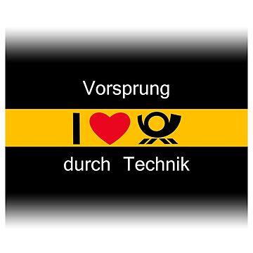 Audi DTM Vorsprung Durch Technik design by GetItGiftIt