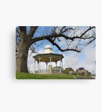Rotunda By The River Canvas Print