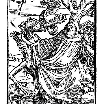 The Abbot, from The Dance of Death, by Hans Holbein the Younger  by BestPaintings