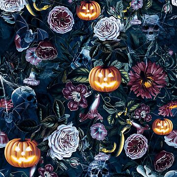 Halloween pumpkin forest by rizapeker