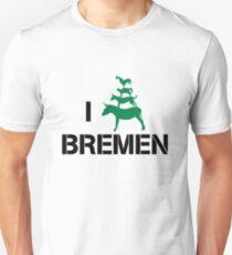 I Love Bremen Town Musicians  Unisex T-Shirt