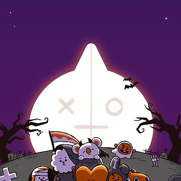 BT21 Halloween by ZeroKara