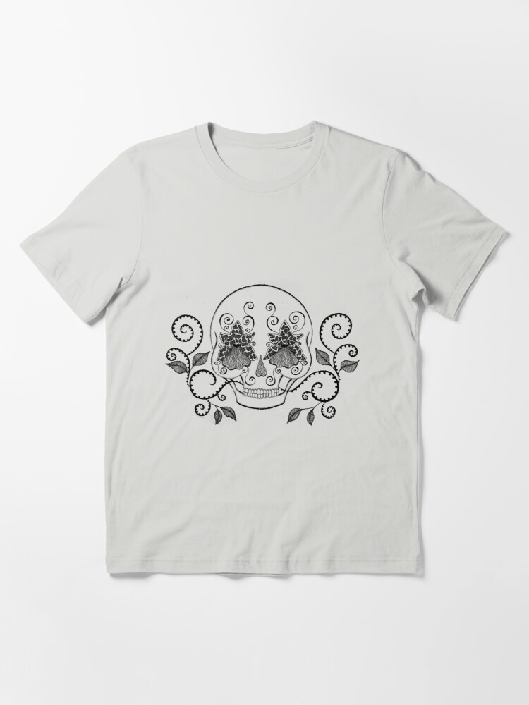 Alternate view of Orchid Eye Skull Essential T-Shirt