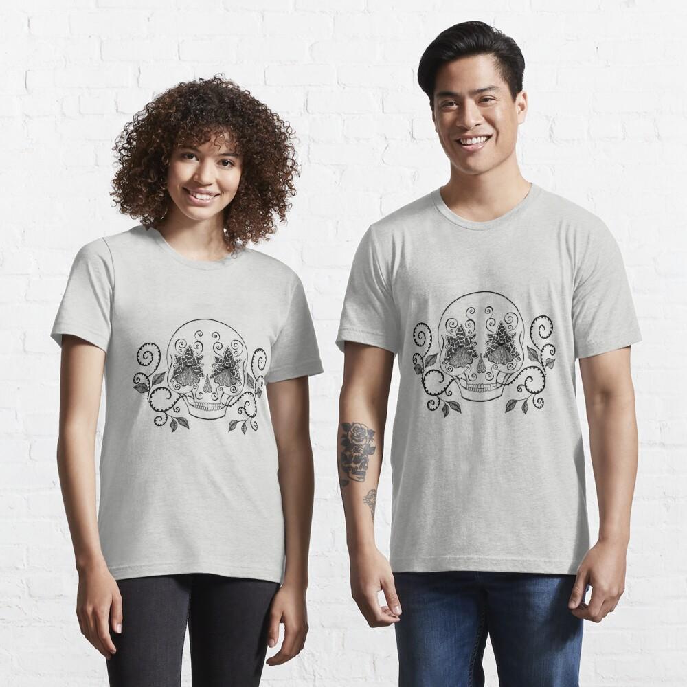 Orchid Eye Skull Essential T-Shirt