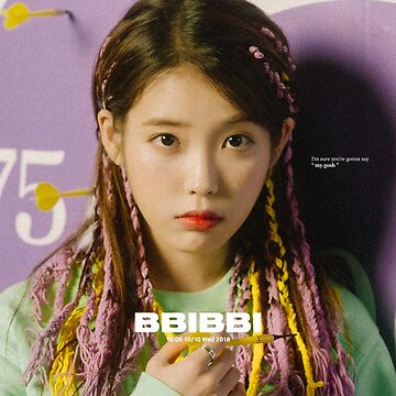 IU BBIBBI by KPOPEMPORIUM