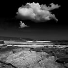 White Cloud ... Redgate Beach by Angelika  Vogel