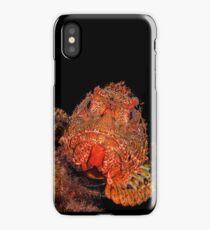 Scorpionfish Portrait iPhone Case/Skin