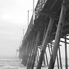 Foggy Day at the Fishing Pier by Ryan McGurl