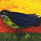 A Blackbird by Anne Gitto