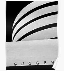 Guggenheim - NYC Poster