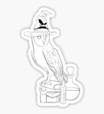 Owl Potions Sticker