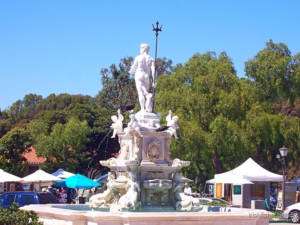 Neptune Fountain by irishfisherman2