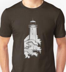 Nautical Chrome Mighty Lighthouse Unisex T-Shirt