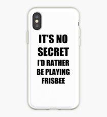Vinilo o funda para iPhone Frisbee Sport Fan Lover Funny Gift Idea