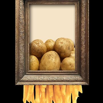 Banksy Shredder French Fries Costume Potatos Art by kolbasound