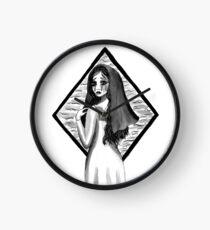 La Llorona - Die weinende Frau in Tinte Uhr