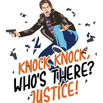 Knock Knock Who's There? Justice! by KsuAnn