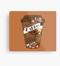 Kaffe Metal Print