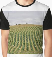 Farmland Rows Graphic T-Shirt