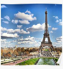Paris, Tour Eiffel Poster
