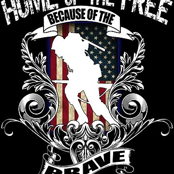 Home of the Free because of the Brave Veteran by Bullish-Bear