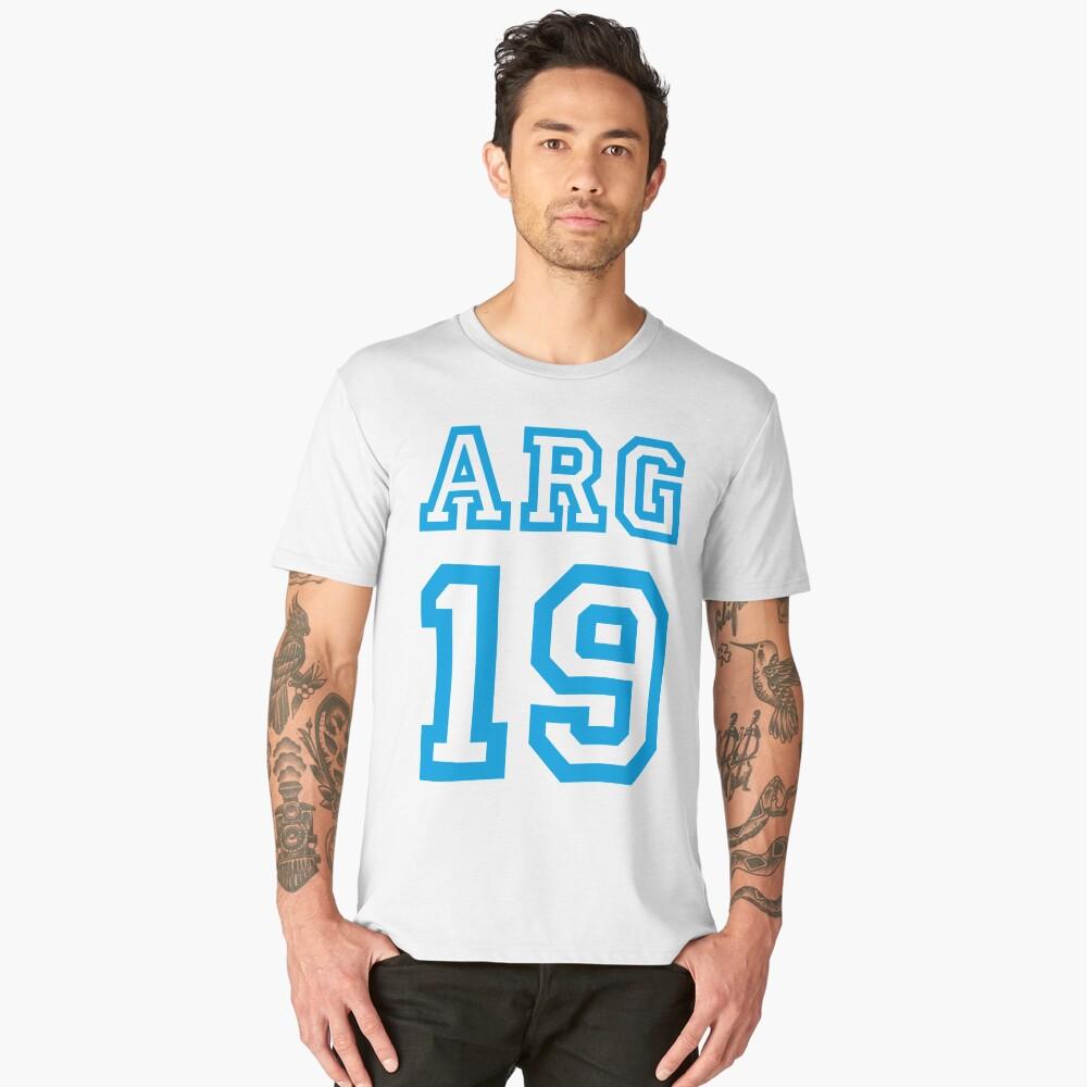 ARGENTINA Men's Premium T-Shirt Front