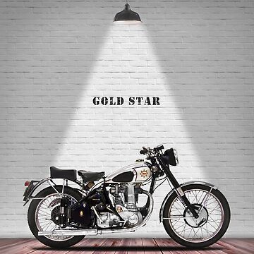 Gold Star Classic Motorcycle by rogue-design