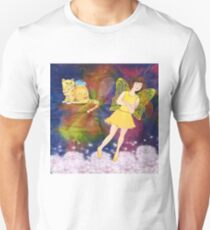 Miss Rose's Garden, The Angry Fairy Unisex T-Shirt