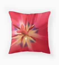 Deep in the Heart....tulip. Throw Pillow