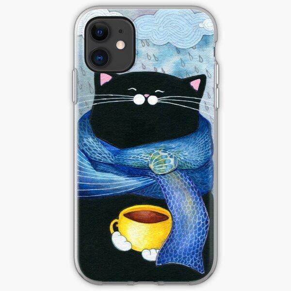 Rainy Day Coffee  iPhone Soft Case