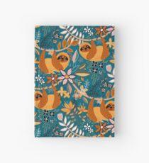 Happy Boho Sloth Floral Carnet cartonné