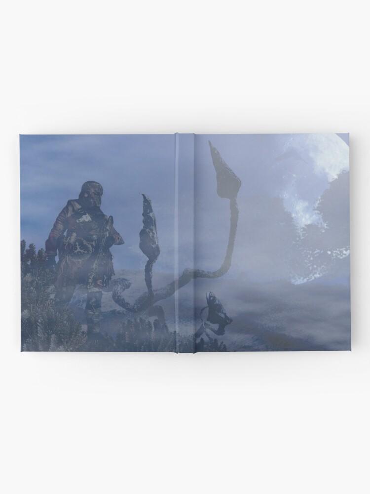 Alternate view of dark creatures in the night Hardcover Journal