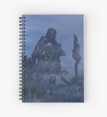 dark creatures in the night Spiral Notebook