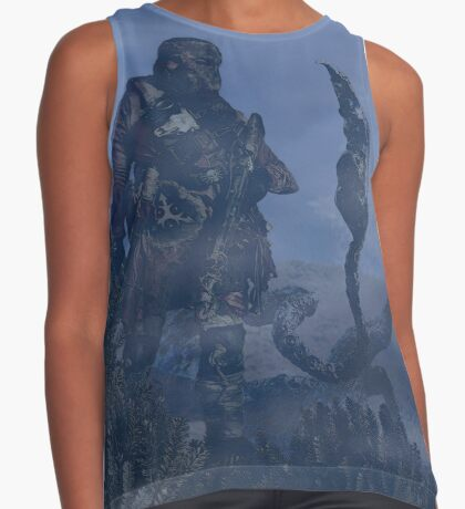 dark creatures in the night Contrast Tank