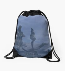 dark creatures in the night Drawstring Bag