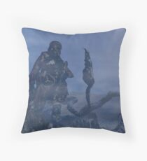 dark creatures in the night Throw Pillow