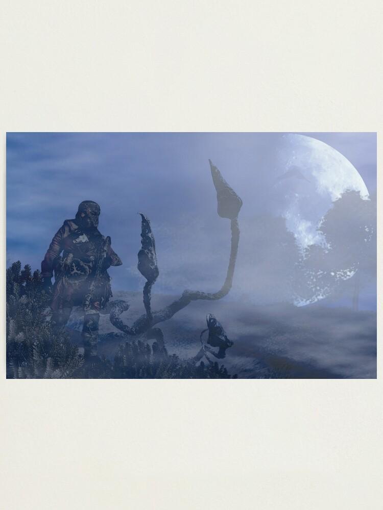 Alternate view of dark creatures in the night Photographic Print