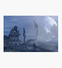 dark creatures in the night Photographic Print