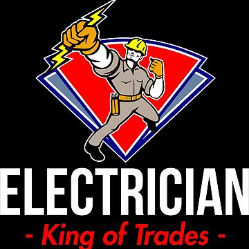Electronic technician King of the professions by IchliebeT-Shirt